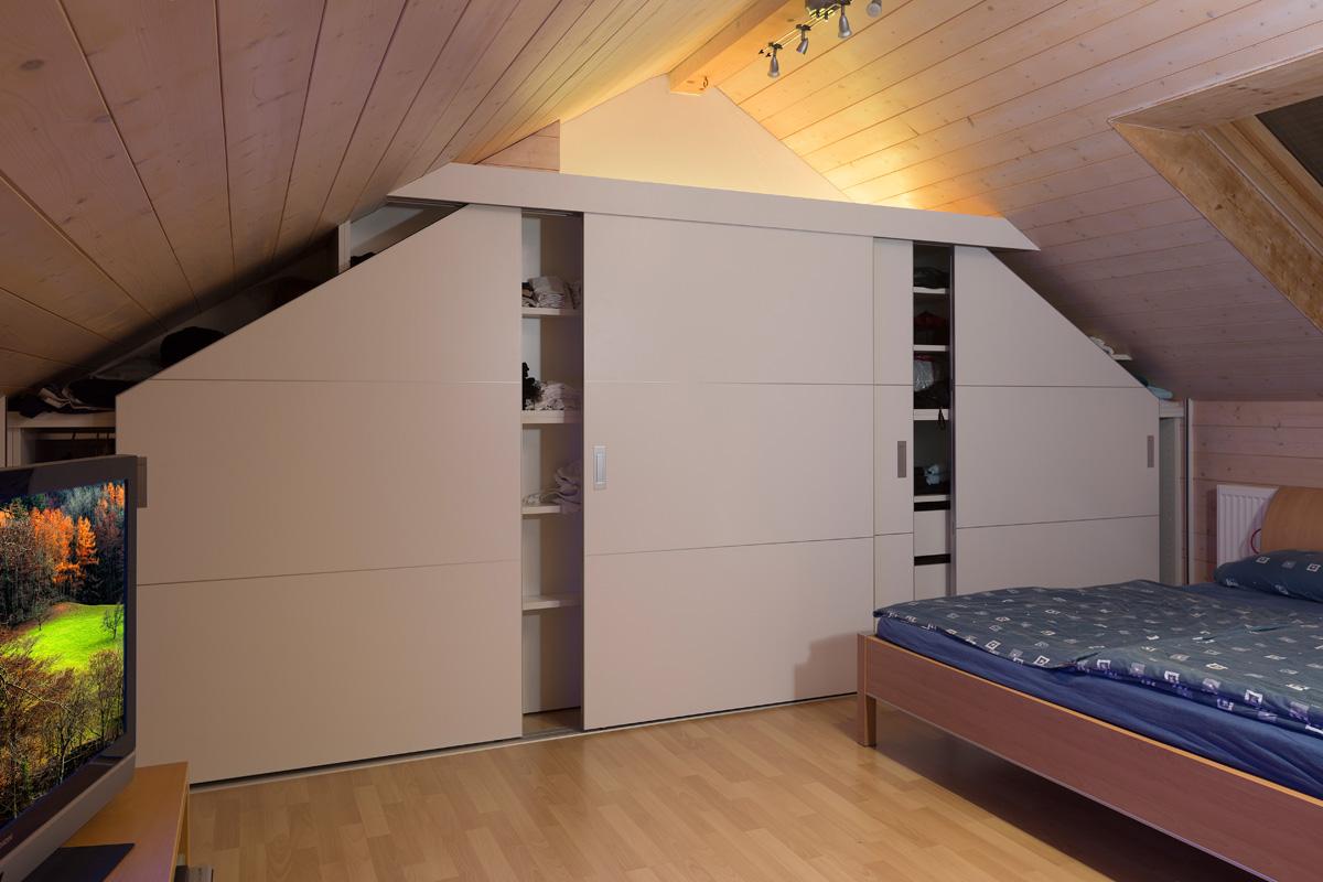 einbauschrank nach mass. Black Bedroom Furniture Sets. Home Design Ideas